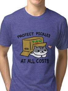 Pickles Protection Squad Tri-blend T-Shirt