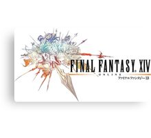 Final Fantasy XIV Logo Canvas Print