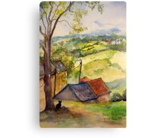 A view of Mabonson Canvas Print