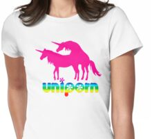 Uniporn 4 Womens Fitted T-Shirt