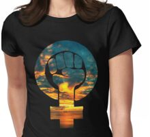 Dawn - Tee Print Womens Fitted T-Shirt