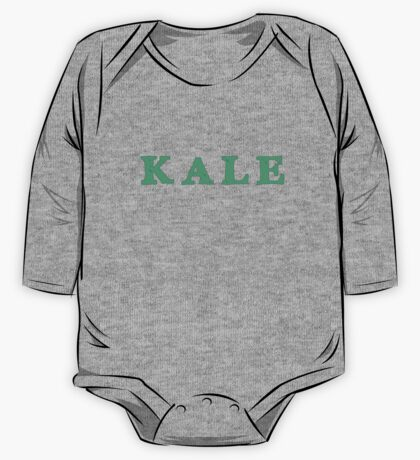 KALE Iconic Healthy trendy Food One Piece - Long Sleeve