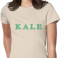 KALE Iconic Healthy trendy Food Womens Fitted T-Shirt