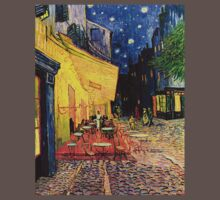Night Cafe by Vincent van Gogh Kids Clothes