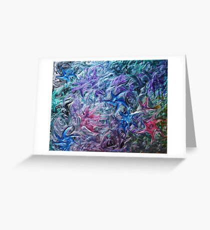 Stars at Play in the Sky Greeting Card