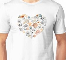 I saw some sea shells Unisex T-Shirt