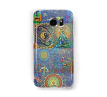 Acrylic Yoga Paintings by Karmym Samsung Galaxy Case/Skin