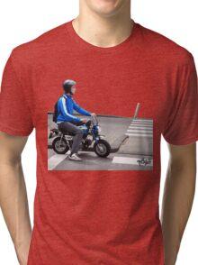 Classy Ride Honda z50 Tri-blend T-Shirt