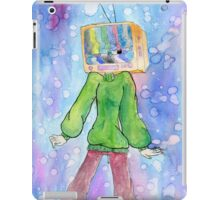 tv head iPad Case/Skin
