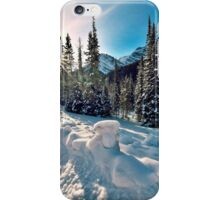 The Road To Spray Lakes, Alberta. Canada iPhone Case/Skin
