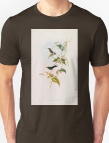 A monograph of the Trochilidæ or family of humming birds by John Gould 1861 V5 272 T-Shirt
