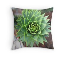 Monkey Puzzle Tree Throw Pillow