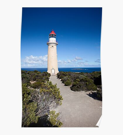 Admirals Arch Lighthouse Poster