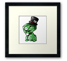 Charming Creeper Framed Print