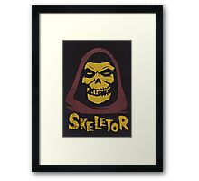 Skeletor - Misfits Framed Print