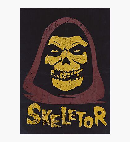 Skeletor - Misfits Photographic Print