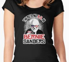 There's no B.S. in Bernie Sanders Women's Fitted Scoop T-Shirt