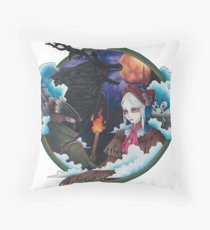 Bloodborne Throw Pillow