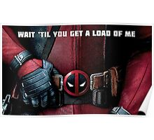 Deadpool belt of destiny Poster
