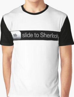 Slide To Sherlock Graphic T-Shirt