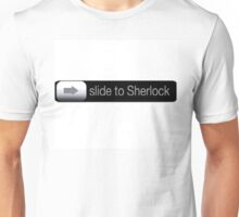 Slide To Sherlock Unisex T-Shirt