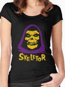 Skeletor - Misfits Women's Fitted Scoop T-Shirt