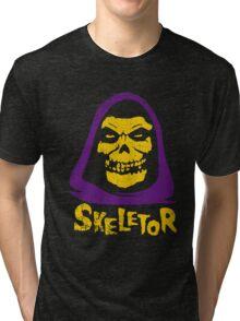 Skeletor - Misfits Tri-blend T-Shirt