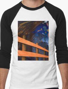 Fence Post Men's Baseball ¾ T-Shirt