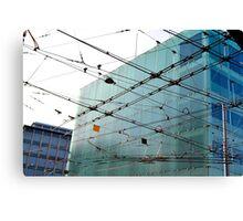 Crossed Wires - Geneva Canvas Print