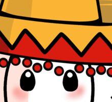 Sombrero Llama Sticker
