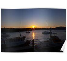 Herbert River Sunset Poster