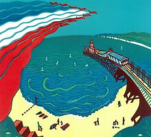 Red Arrows, Bournemouth Beach by Cecca-Designs