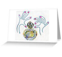 Soir de Lune perfume illustration Greeting Card