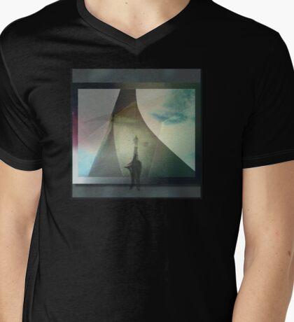 V E C Ŧ O R   ǂ   P R Δ S M Mens V-Neck T-Shirt