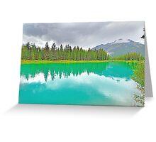 Bow River, Banff, Alberta, Canada Greeting Card