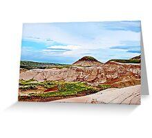 Drumheller Hoodoos - Alberta, Canad Greeting Card