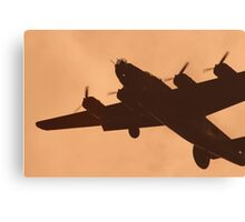 WWII Era B17 Flying Fortress Canvas Print