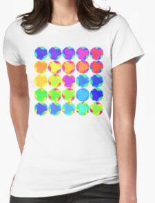 Variations on a Triangle Womens Fitted T-Shirt