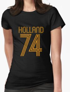Superteams #74 in a series Holland 1974 (Netherlands/Dutch) Womens Fitted T-Shirt