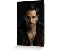 Colin O'Donoghue as Captain Hook Greeting Card