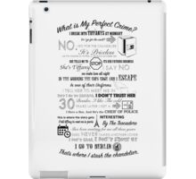 The Office: Dwight's Perfect Crime iPad Case/Skin
