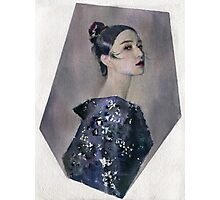 Fan Bingbing watercolour portrait Photographic Print