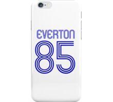 Superteams #85 in a series Everton 1985 iPhone Case/Skin