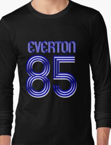 Superteams #85 in a series Everton 1985 Long Sleeve T-Shirt