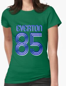 Superteams #85 in a series Everton 1985 Womens Fitted T-Shirt