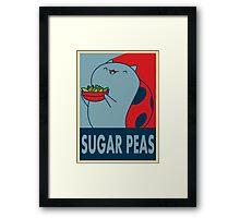 Catbug for President Framed Print