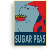 Catbug for President Canvas Print