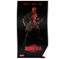 Deadpool Rocker Stand Poster