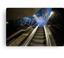 ONZ Metro, Warsaw Canvas Print