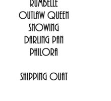 SHIPPING OUAT Sticker